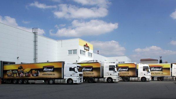 Potravinářské společnosti Hamé loni stouply tržby o 154 milionů korun a meziročně tak narostly o 2,7 procenta na 5,1 miliardy korun.