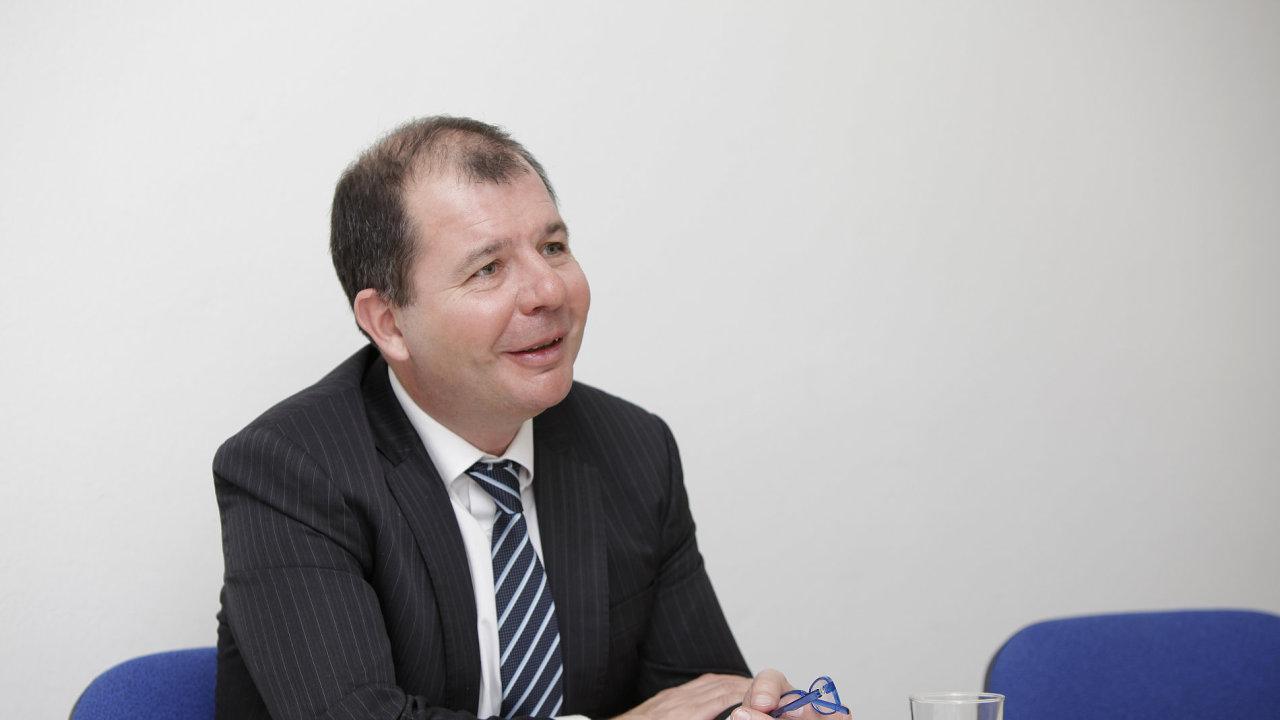 Generální ředitel společnosti Euler Hermes Fabrice Desnos