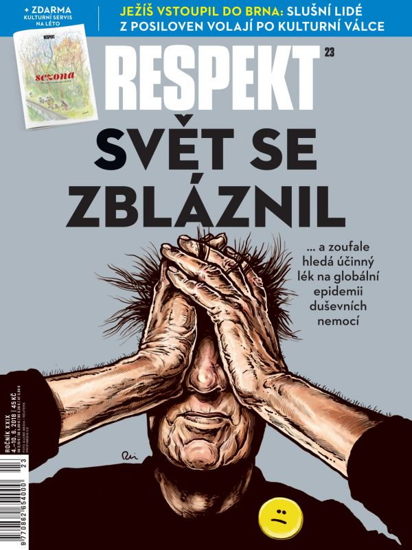 obálka Respekt