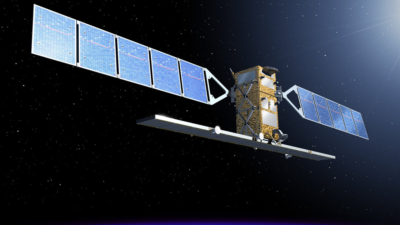 Za několik měsíců se na oběžné dráze okolo Země objeví takovéto tři nové družice Sentinel.