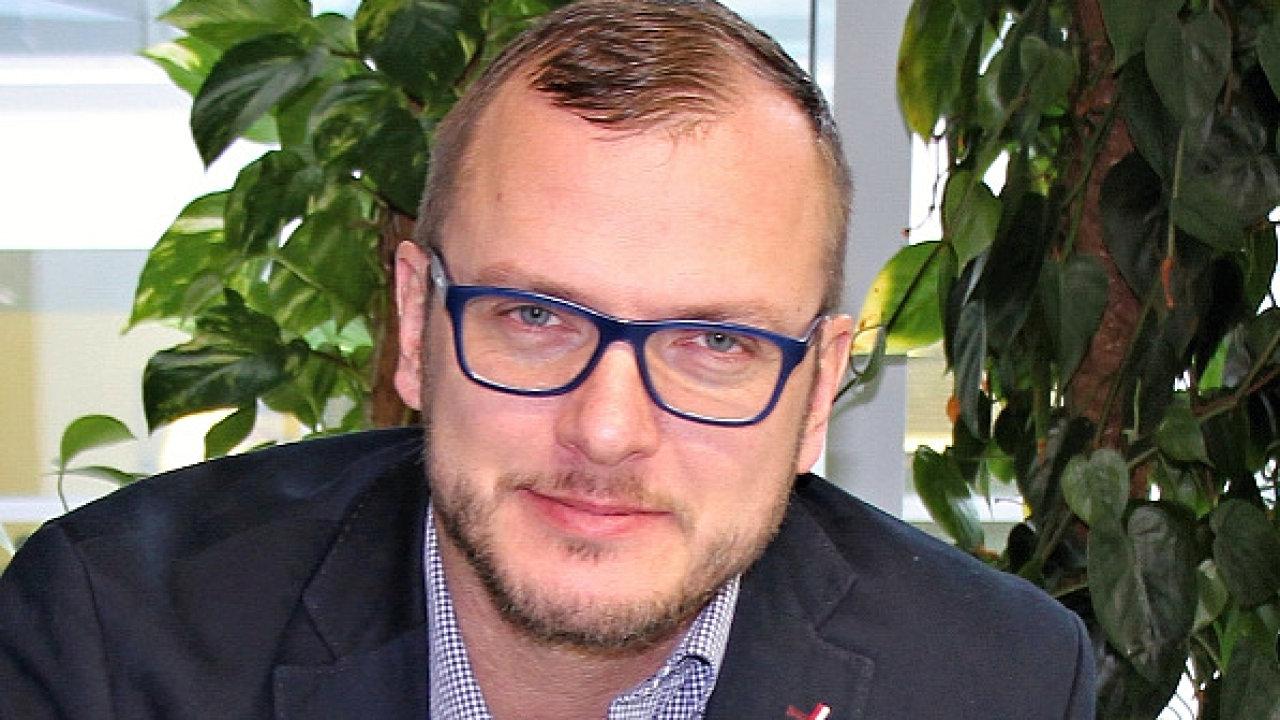 Aleš Krupka, výkonný ředitel divize Inženýrské stavitelství Skanska Česká republika