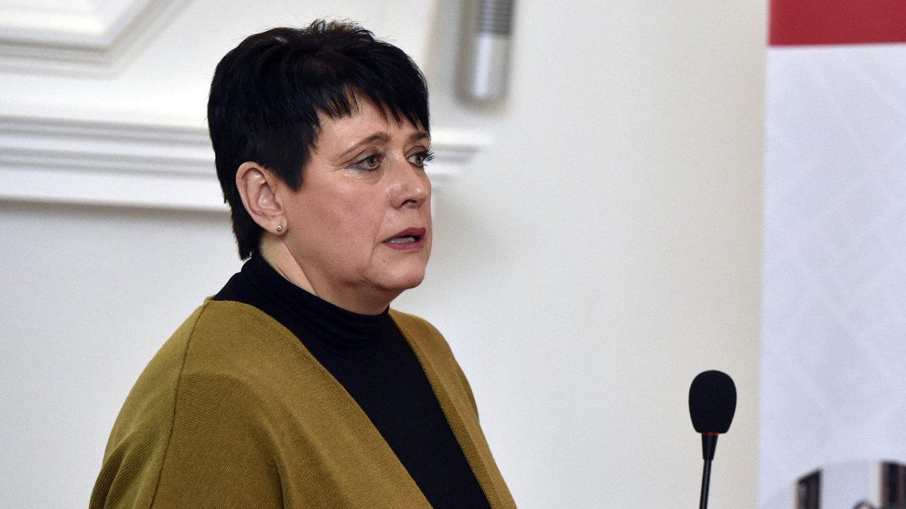 Zastupitelka Ludmila Oulehlová