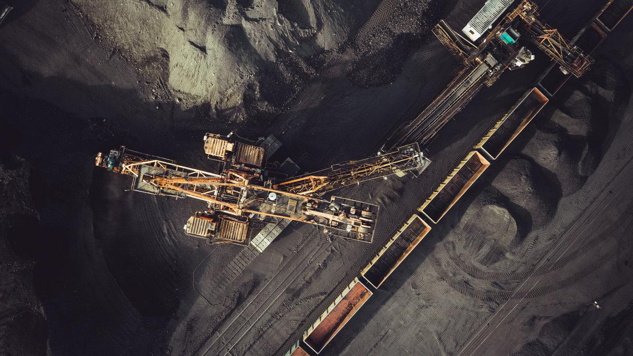 uhlí těžba