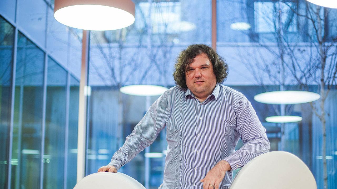 Vizionář. Václav Muchna zavádí do Česka novátorské formy řízení firmy.