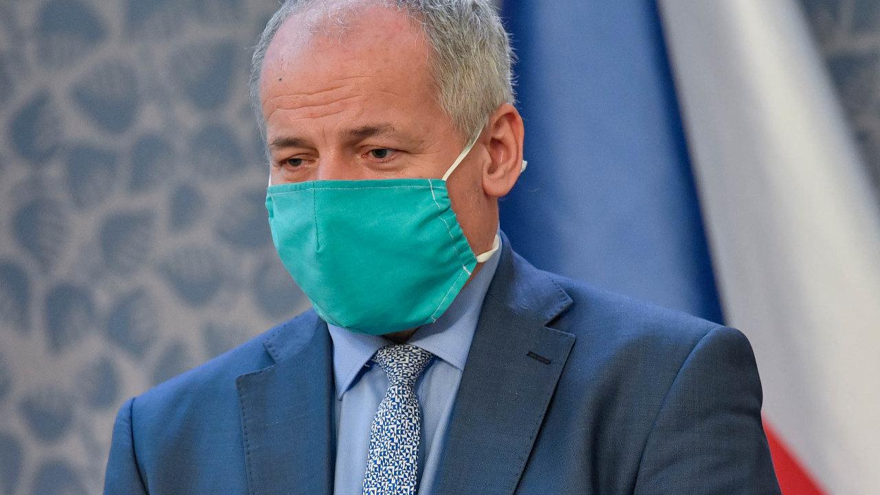 Náměstek ministra zdravotnictví Roman Prymula uvedl, že odejde, pokud nenastanou dvě skutečnosti, které ale dále nespecifikoval.