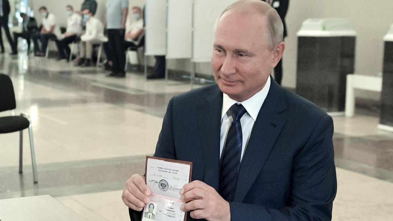 Putin, Rusko, referendum