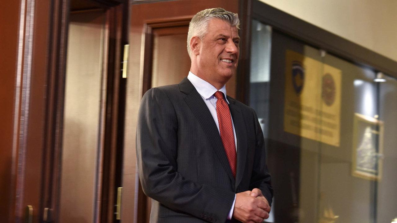 Had Thaci: Současný kosovský prezident používal vdobě, kdy velel jednotkám UCK, přezdívku Had.