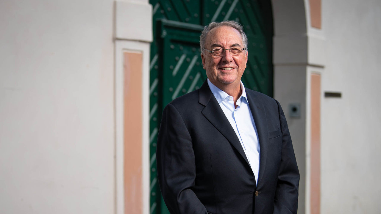 Stanley Erck, ředitel firmy Novavax.