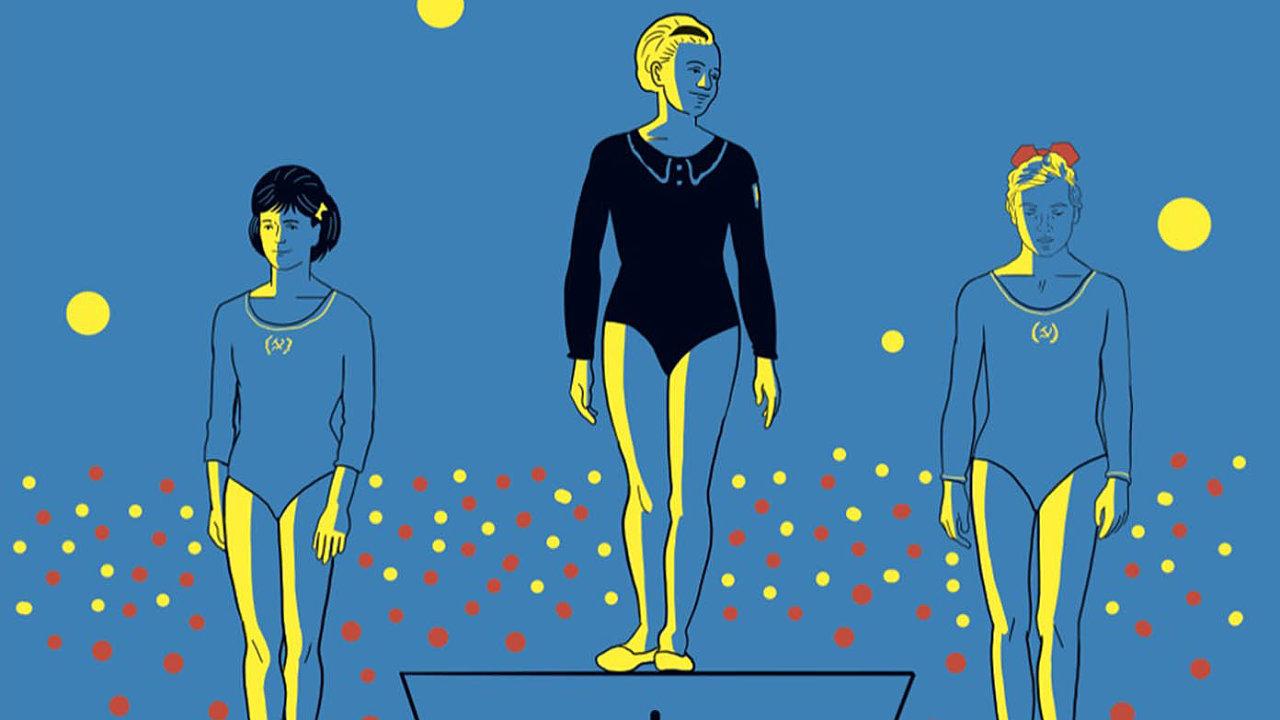 Napřed na stupních vítězů a vzápětí před oltářem stanula Věra Čáslavská během olympiády v Mexiku. Komiks sleduje její úspěchy i komplikované vztahy s muži a režimem.