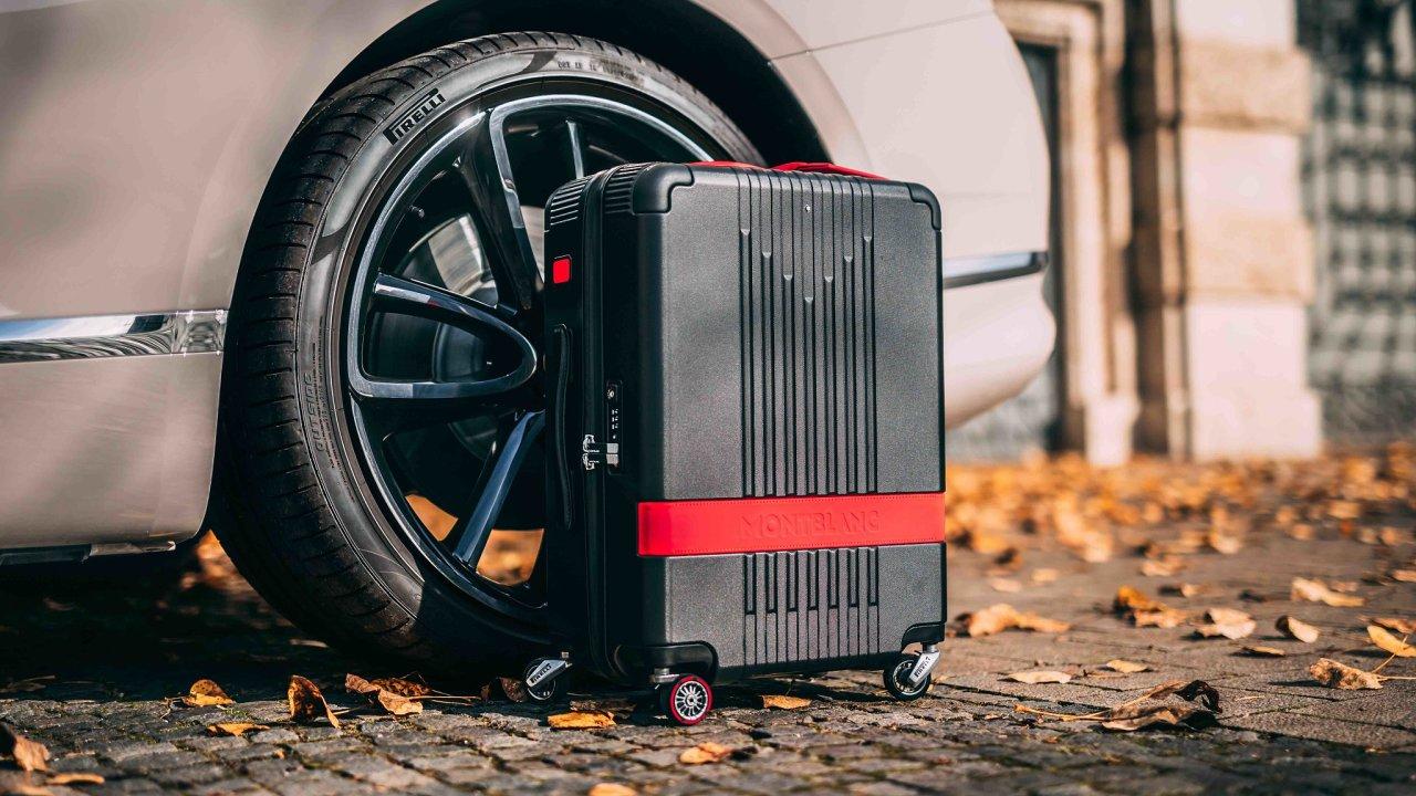 Nové cestovní zavazadlo Montblanc x Pirelli