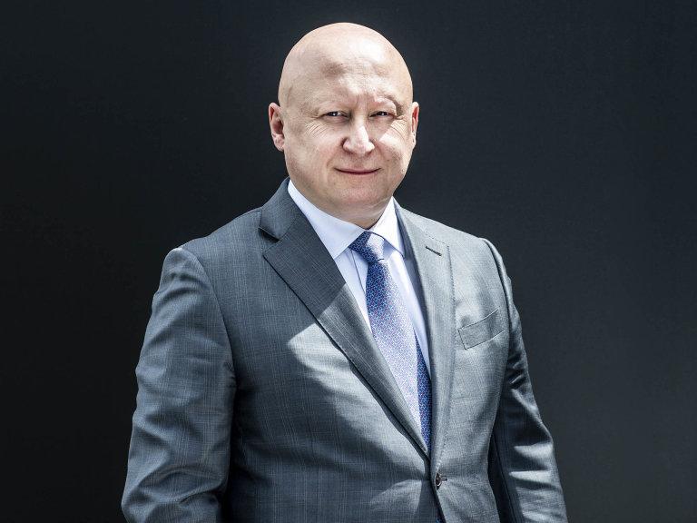 Debaty Hospodářských novin obudoucnosti českého průmyslu se zúčastnil generální ředitel ČEZ Daniel Beneš (na snímku). Setkání moderoval šéfredaktor HN Martin Jašminský.