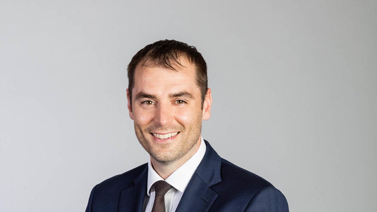 Marek Dvořák, ředitel segmentu pro živnostníky amalé firmy Moneta Money Bank