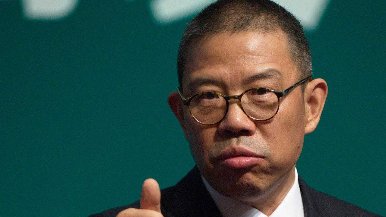 Jmění Číňana Čung Šan-šana dosahuje částky 77,8 miliardy dolarů.