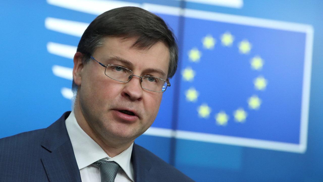 Valdis Dombrovskis, místopředseda Evropské komise