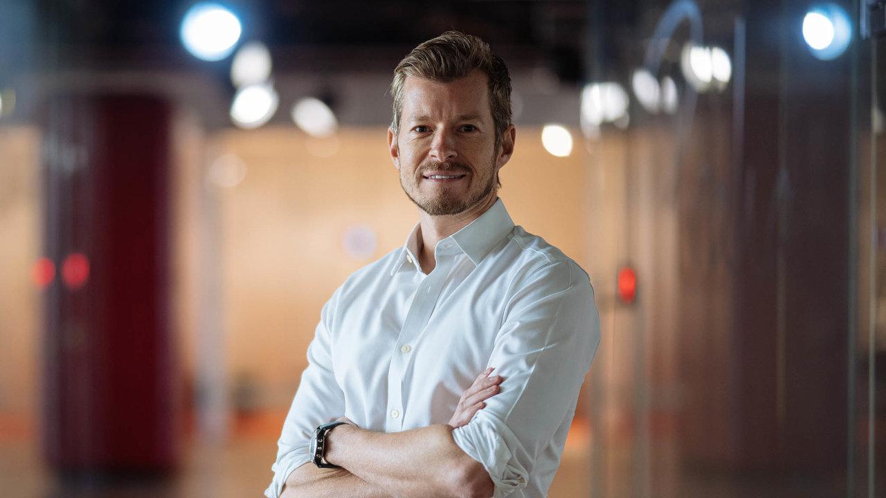 Viktor Fischer, Rockaway Blockchain Fund Praha, 24. 2. 2021, HN - Lukáš Bíba
