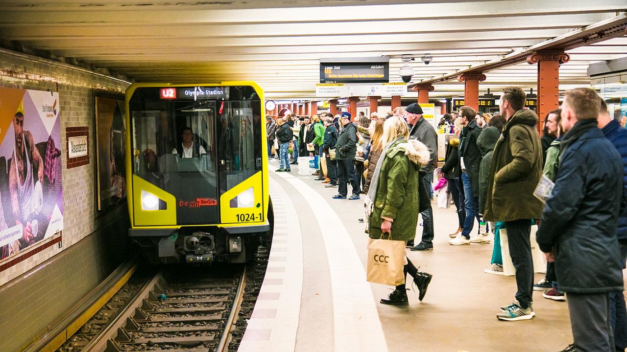 Mikroby zkoumali vědci i v berlínském metru.