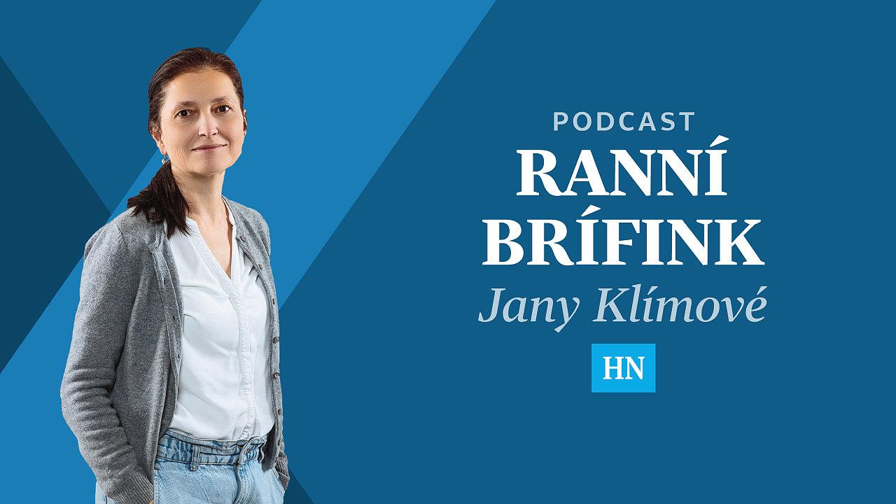 Ranní brífink Jany Klímové