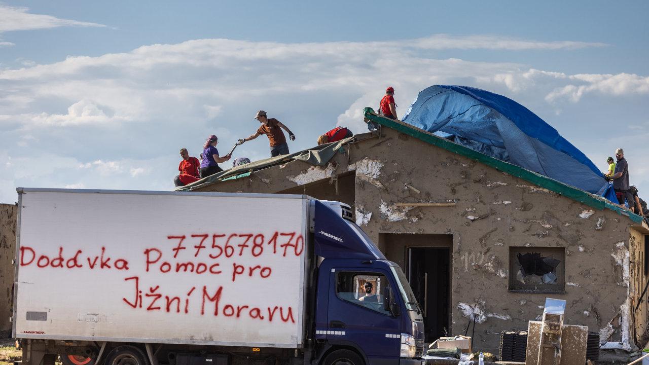 Vlna solidarity zaplavila jižní Moravu