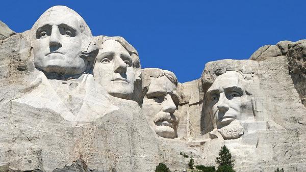 Mount Rushmore, Jižní Dakota, USA