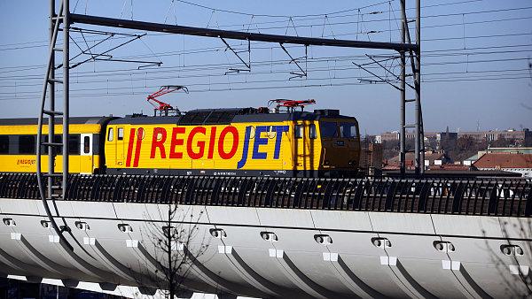 Soukromý dopravce RegioJet v posledních letech rozšiřuje svoje železniční aktivity - Ilustrační foto.