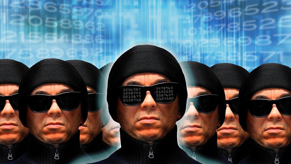Hackeři - ilustrační foto