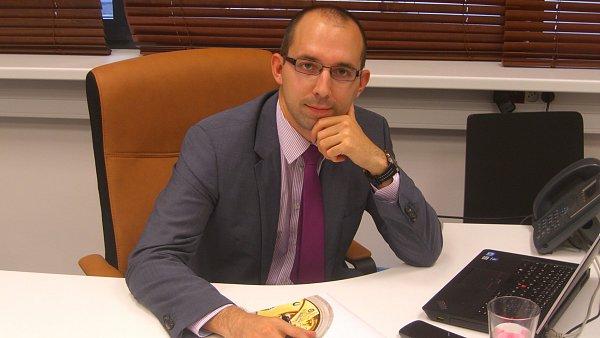 Tomáš Cink, finanční ředitel společnosti AMCON Europe.