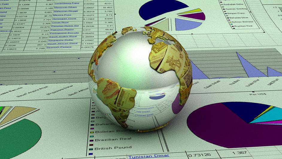 Globální ekonomika. Ilustrační foto.