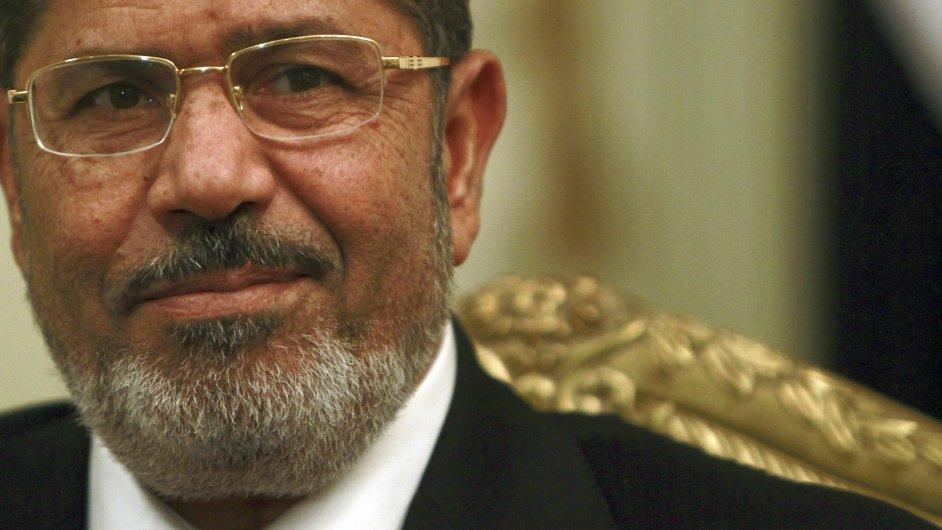 Sesazený egyptský prezident Muhammad Mursí.