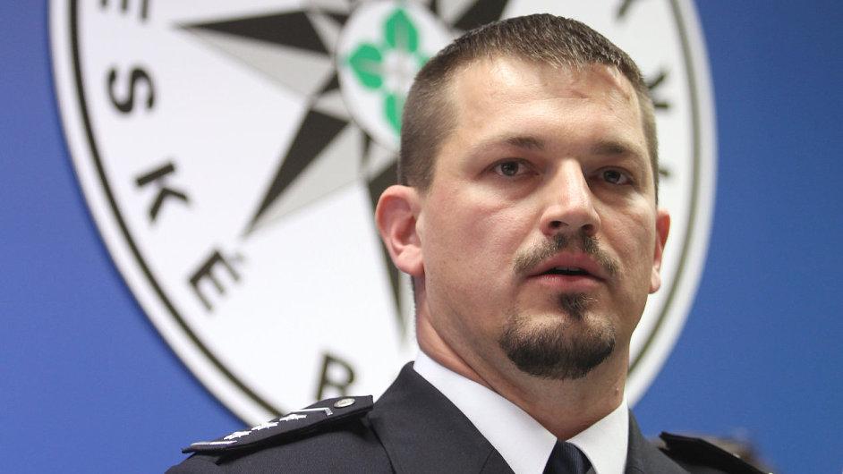 Šéf dopravní policie Tomáš Lerch