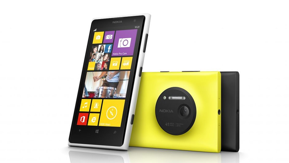 Fotomobil Nokia Lumia 1020 s Windows Phone