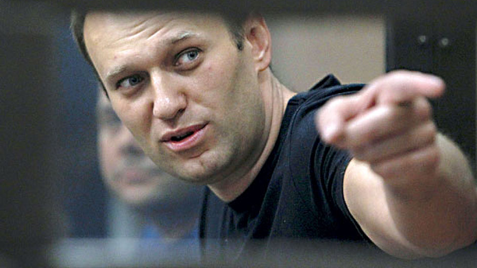 Vůdce ruské opoziční Strany pokroku Alexej Navalnyj (ilustrační foto).