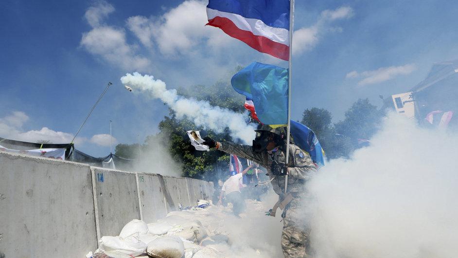 Nepokoje v Bangkoku