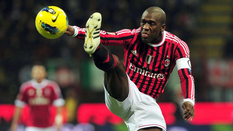 Clarence Seedorf ještě jako kapitán AC Milán