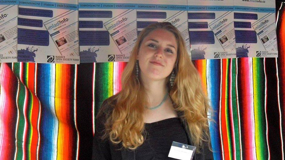 Tereza Hronová, dobrovolnice Mladiinfo