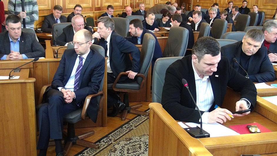Nový ukrajinský parlament - Ilustrační foto.