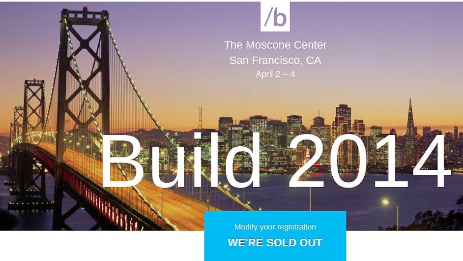 Konference Microsoft BUILD