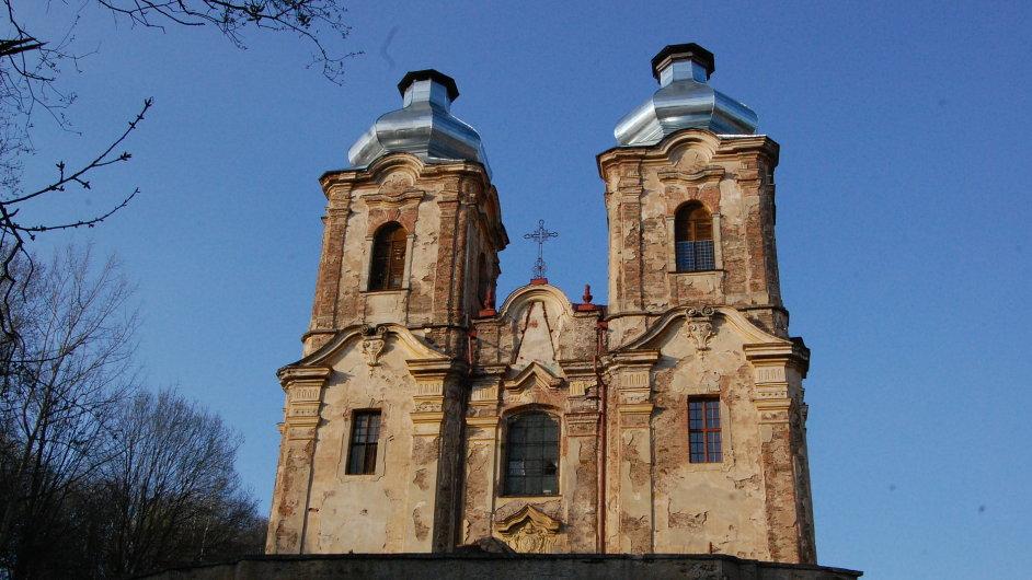 Kostel Panny Marie Skákavé ve Skocích