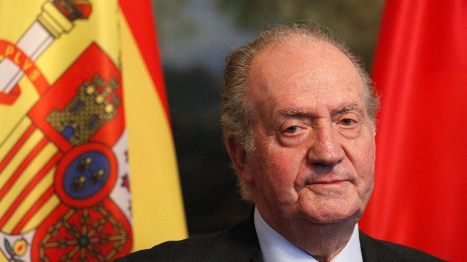 Odcházející španělský král Juan Carlos I.