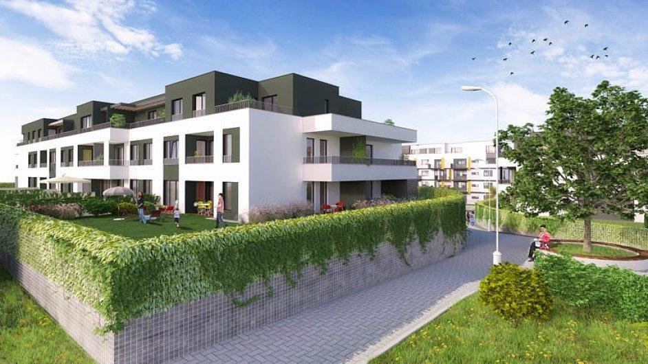 Velcí developeři loni prodali v Praze téměř šest tisíc bytů (Na ilustračním snímku developerský projekt U Cukrovaru)