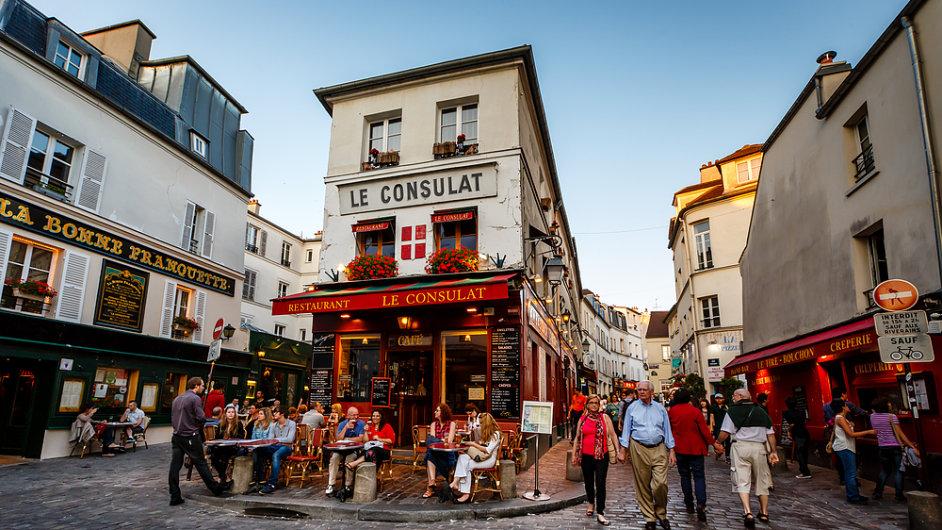 Francouzská restaurace (ilustrační foto)
