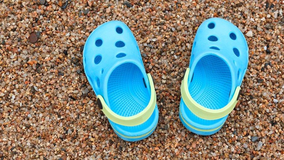 Boty značky Crocs