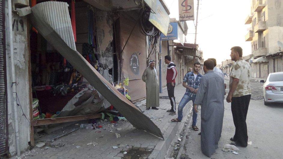 Nálety v Sýrii