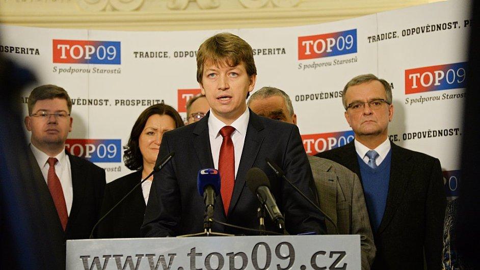 Nový předseda pražské TOP 09 Jiří Koubek (ilustrační foto)