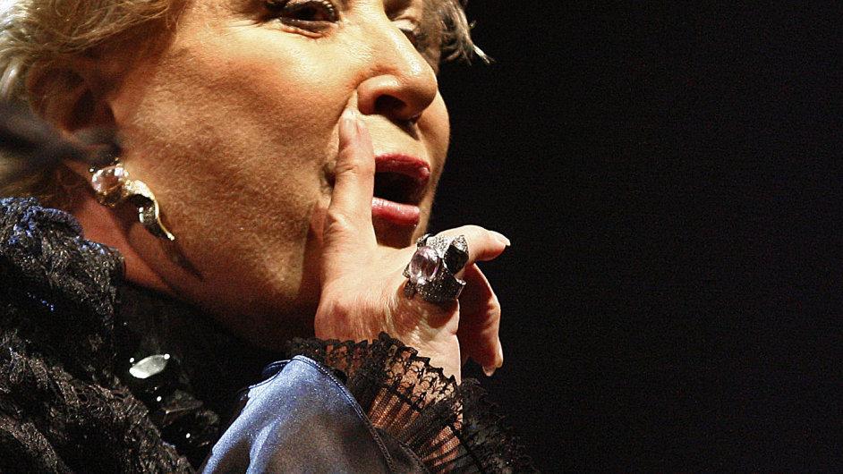 Jelena Obrazcovová zpívala v Česku naposledy před čtyřmi roky.