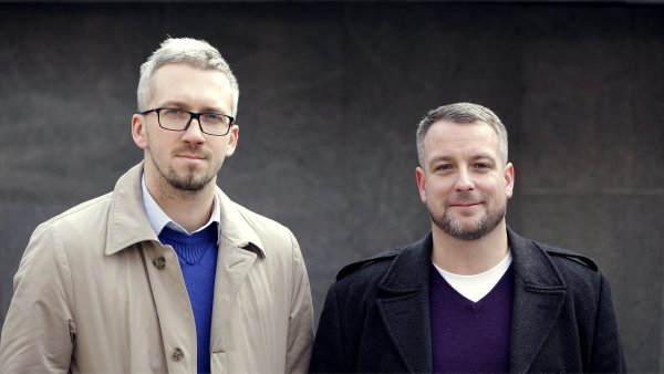 Adam Kurzok a Igor T�esl�n, zakladatel� serveru Lunchtime