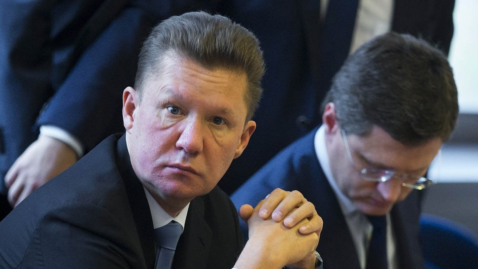 Šéf Gazpromu Alexej Miller pravidelně hrozí omezením nebo zastavením dodávek plynu do Evropy
