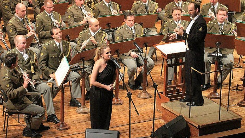 Koncert Ústřední hudby Armády České republiky v Rudolfinu, ilustrační foto.