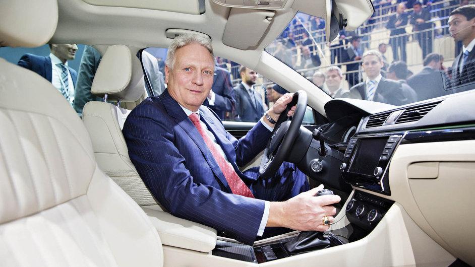 Šéf automobilky Škoda Auto Winfried Vahland nebere zpomalení čínské ekonomiky nijak dramaticky.