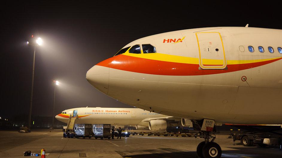Přímé letecké spojení Praha-Peking spustí Hainan Airlines 22. září.