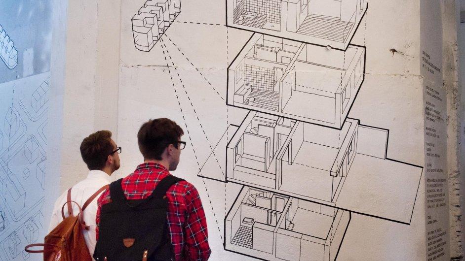 Snímky z výstavy Drei Gruppen